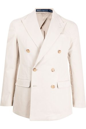 Polo Ralph Lauren Men Blazers - Double-breasted blazer - Neutrals