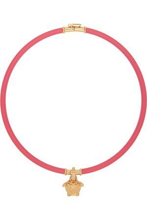 VERSACE Women Necklaces - Pink Medusa Choker