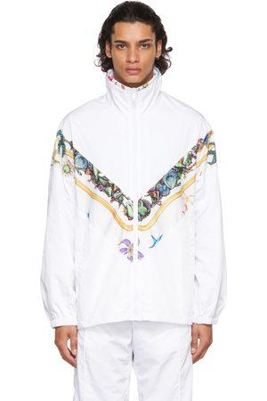 Versace Men Jackets - White Trésor De La Mer Jacket