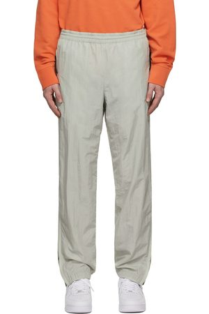 Helmut Lang Men Sweatpants - Grey Nylon Track Pants