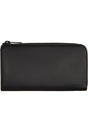 Maison Margiela Black Large Zip-Around Wallet