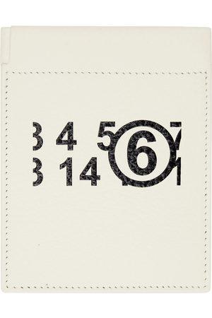 MM6 Maison Margiela Women Wallets - Off-White Logo Coin Pouch