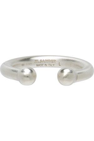 Jil Sander Men Rings - Silver Open Classic Ring