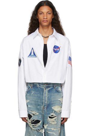 Balenciaga White Space Shirt