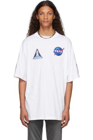 Balenciaga Men T-shirts - White Space T-Shirt