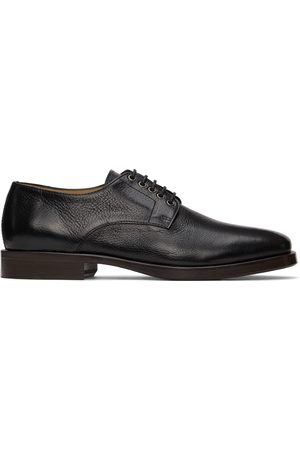 Lemaire Men Formal Shoes - Black Leather Derbys