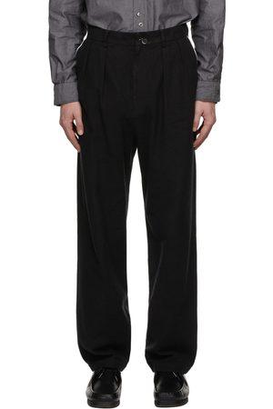 Undercoverism Men Pants - Double Button Pleated Trousers