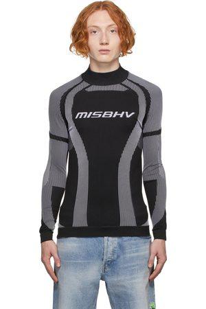 MISBHV Men Long sleeves - Black & White Active Classic Long Sleeve Top