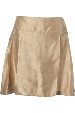 Céline Silk mini skirt