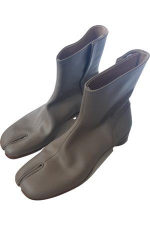 Maison Martin Margiela Tabi leather boots