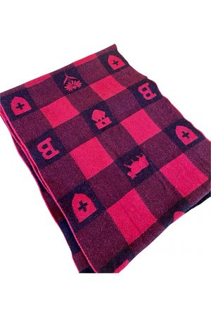 Bally Wool scarf & pocket square