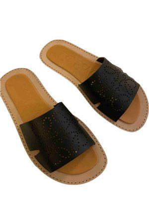Loewe Men Sandals - Leather sandals