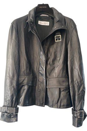 Max Mara Leather biker jacket