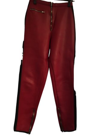 Jean Paul Gaultier Vegan leather slim pants