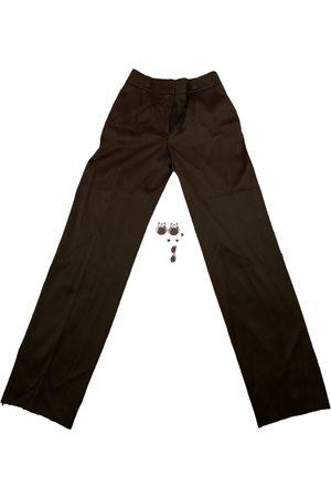 Escada Silk straight pants
