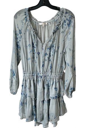 LOVESHACKFANCY Silk mini dress