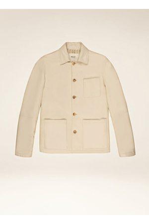 Bally Men Leather Jackets - Painters Jacket 48