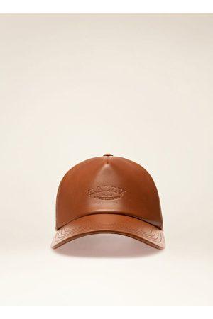 Bally Leather Cap 59