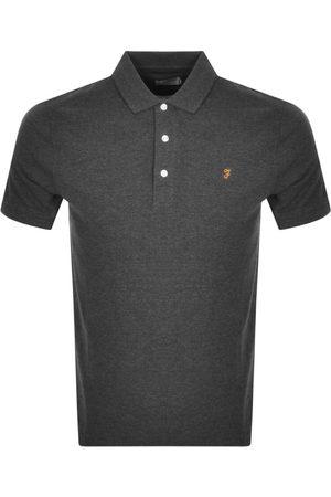 Farah Blanes Polo T Shirt Grey
