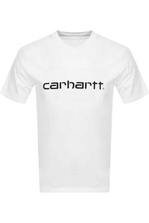 Carhartt Script Logo T Shirt