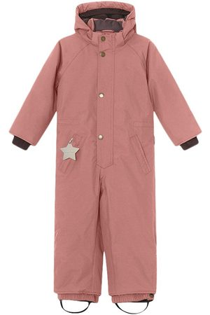 Mini A Ture Kids - Wanni Snowsuit K Wood Rose - Girl - 3y/98cm - - Winter coveralls