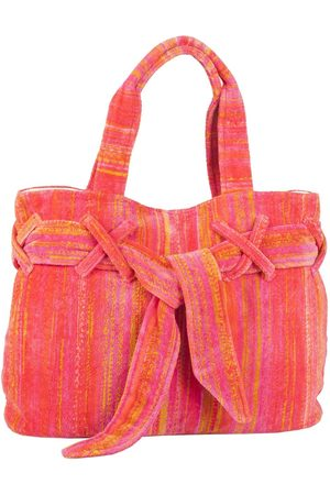 Elaiva Women Purses - Orange Shadows Beach Bow Bag