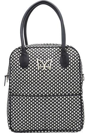 AUDREY ALEXANDRE Intemporel Bag - The & White French Jacquard
