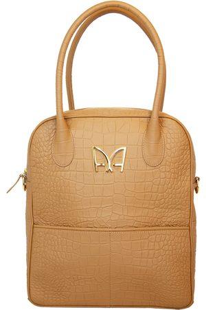 AUDREY ALEXANDRE Intemporel Bag - Beige Topaz Taurillon Leather