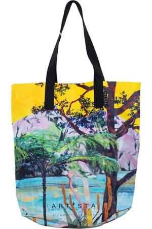 Women Luggage - Artisanal Canvas Lima Tote Bag ARTISTA