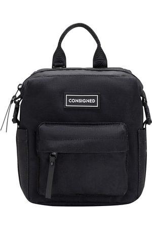 Women Luggage - Black Fabric Lamont Front Pocket Backpack XS CONSIGNED