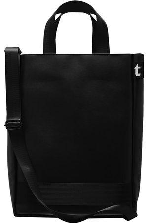 Women Luggage - Vegan Black Leather Terrible Tote Darkmode terrible studio