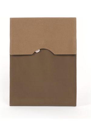 Joon Men Laptop Bags - Canvas Faux Leather Men Laptop Sleeve Camel 13'In