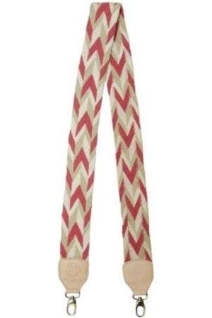 Artisanal Pink Leather Kuperra Arrow Strap Large Mama Tierra