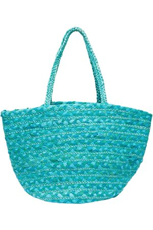Green The Rio Beach Tote mary and marie pty ltd