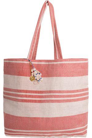 Artisanal Linen Pyotr & Fevronia Beach Bag Balushka