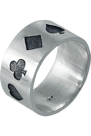Only Men Rings - Poker Ring Oxidised
