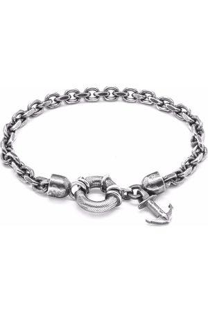 Men's Artisanal Silver Salcombe Chain Bracelet ANCHOR & CREW