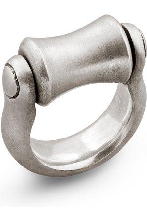 Snake Bones Roller Ring in Sterling