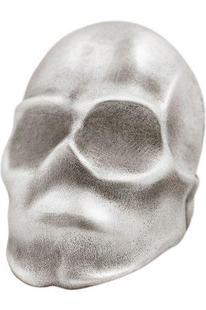 Snake Bones Phantom Skull Ring in Sterling