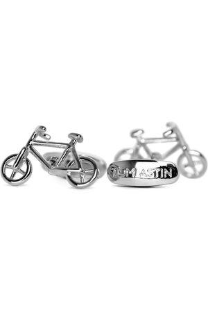 Men's Artisanal Silver Brass Lifecycle Tom Astin