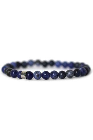 Men Rings - Men's Artisanal Blue Stainless Steel Pacific Tom Astin