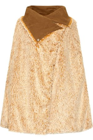 Women's Artisanal Mustard Fabric Grace Cape Bo Carter