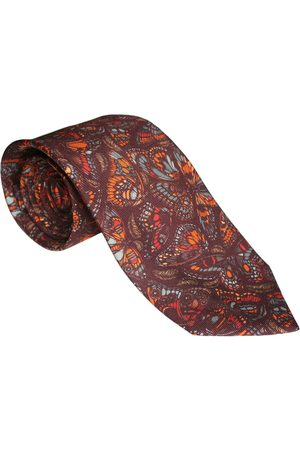 Emily Carter The Tropical Butterfly Tie Terracotta