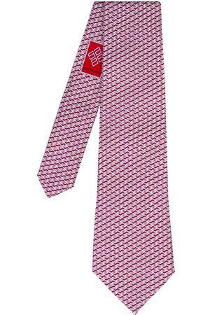 SARTESORI Cubic Tie Dark Red