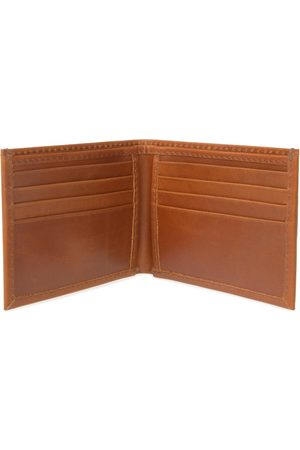 Men Wallets - Men's Brown Leather Classic Tan Card Wallet VIDA VIDA