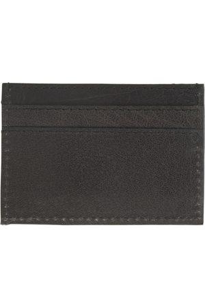 Men Wallets - Men's Black Leather Luxe Card Holder VIDA VIDA