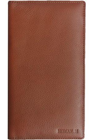 Men Wallets - Men's Brown Leather The Tann Arrwun MORGAN.M