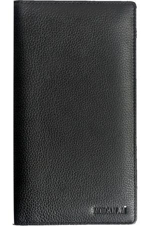 Men Wallets - Men's Black Leather The Arrwun MORGAN.M