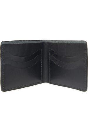 Men's Black Leather Luxe Wallet For Cards VIDA VIDA
