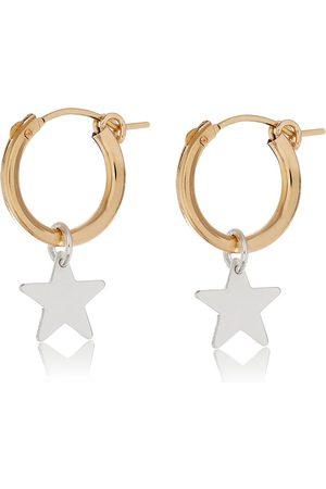 Women Hoop - Women's Artisanal Silver Star Hoop Earrings Harry Rocks